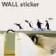 ウォールステッカー /ペンギン